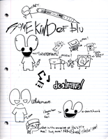 deadmau5 doodles and new chars by Crazychivez
