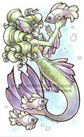 Half Pint: mermaid dreams by dizziness