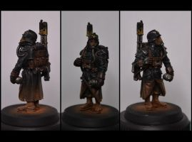 Death Korps of Krieg - Paint test - WIP. by TheWayOfTempest