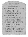 5 Badly-Needed Commandments by MarcusAntoniusHix