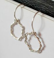Infinity in Fine Silver wire by CrysallisCreations