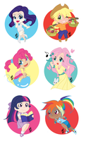 My Little Ponies by yesi-chan