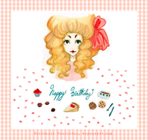 Happy Birthday Poppet - Colored by beyourpet