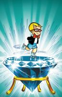 Classic Richie Rich cover 15 colors by DustinEvans