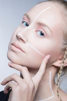 Make-up: editorial/beauty by Cleo-Feline