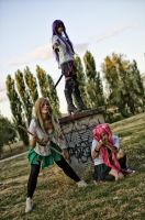 Zombie Killers- Highschool of the DEAD by GloomyElls