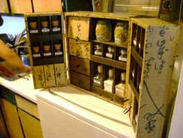 Apothecary Tea Box by Tahirbrown