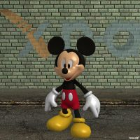 XNA Mickey Mouse by X-N-A