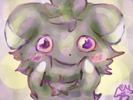 Just smile, Espurr by Zorua1