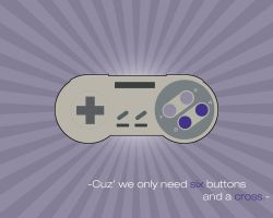 SNES Controller by Crumblier