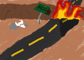 Highway To Hell by Alice-KnightShadow