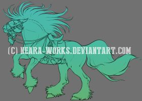 Dolestang LineArt by Neara-works