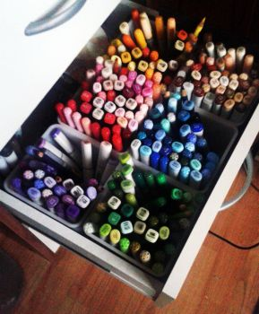 Copic Invasion by Cathy86