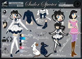 Sailor Specter: SMVillage Application by iLantiis
