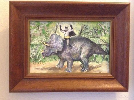 Holy Triceratops by jamesconstantine