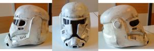 Imperial Commando Helmet 1. by WulWhite
