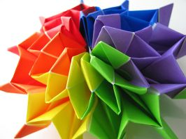 Origami Fireworks Open by EccoingMark