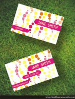Business Card For Woman by Freshbusinesscards