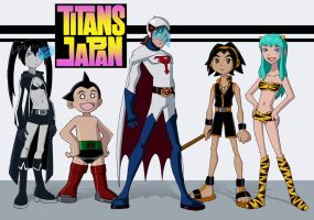 Titans: Japan by Glee-chan
