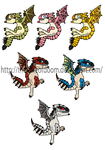 Monster hunter subs and rares chibis 2 by thelimeofdoom