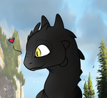 Toothless Is So Cute!!!! by Dazion1999