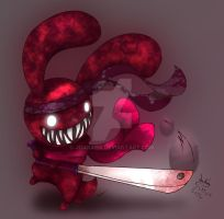 Blood bunny - Knife Swing by Joakaha