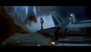 Star Wars Study by chadlindall