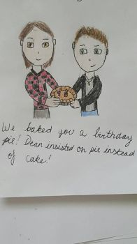 Happy Birthday from the Winchesters! by SpartaBlaze