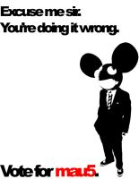 Vote for mau5 by T0X1KB01