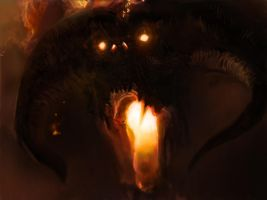 Balrog by DavidKarlsson