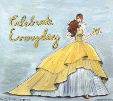 Celebrate Everyday by angelaaasketches