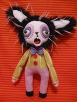 Bleeny Bee Bunny by dingogirl66