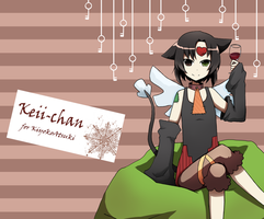 Contest : Keii-chan by chocoblanc