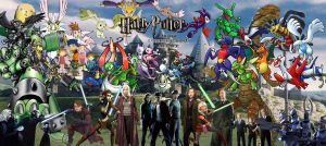 Poster 4 - Harry Potter by Flamacron