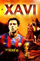 xavi  my best players by KASOO
