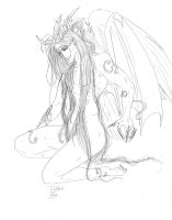 Ares-Princi form-sketch by Destinyfall