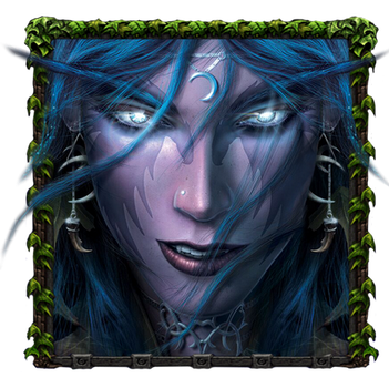 PNG for icon. WarCraft (Elf) by AndreySemenov