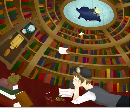 The Library by Angelfeathers137