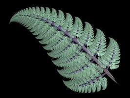 Green Apophysis Frond by Gibson125