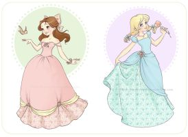 Princesses by Chpi