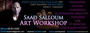 Saad Salloum Art Workshop by sKyLinKd