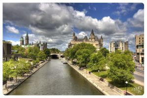 Down Town Ottawa, May by AmirNasher