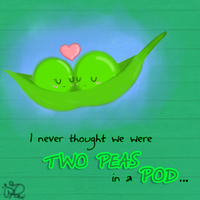 Two Peas in a Pod by PrePAWSterous