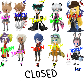 free adopts - closed (see description) by aidyn-chronicles