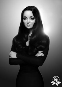 Morticia by PapaNinja