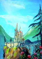 Beauty and the Beast castle.. by WormholePaintings