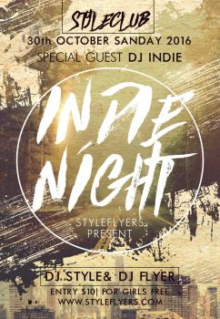Indie by Styleflyers