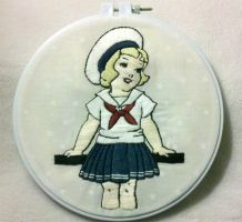 My vintage sailor girl by starrley