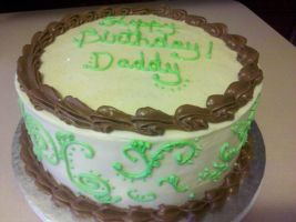 Happy Birthday, Daddy! by missblissbakery