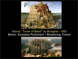 European Union Parliament 04 (Tower of Babel) by NixSeraph